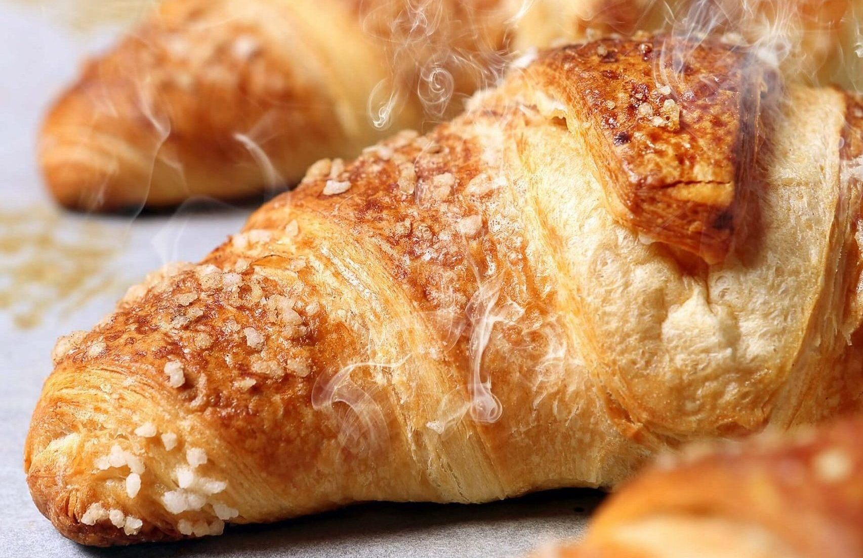 Delicious and buttery croissant bakery solutions freezer to oven croissant, Freezer To Oven, Oven, Par Baked Oven, Pan Release Agents