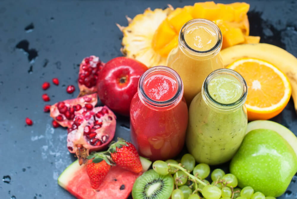 Fruit compound and customized blends, fruit compound for nectars, drinks, smoothies, healthy smoothies