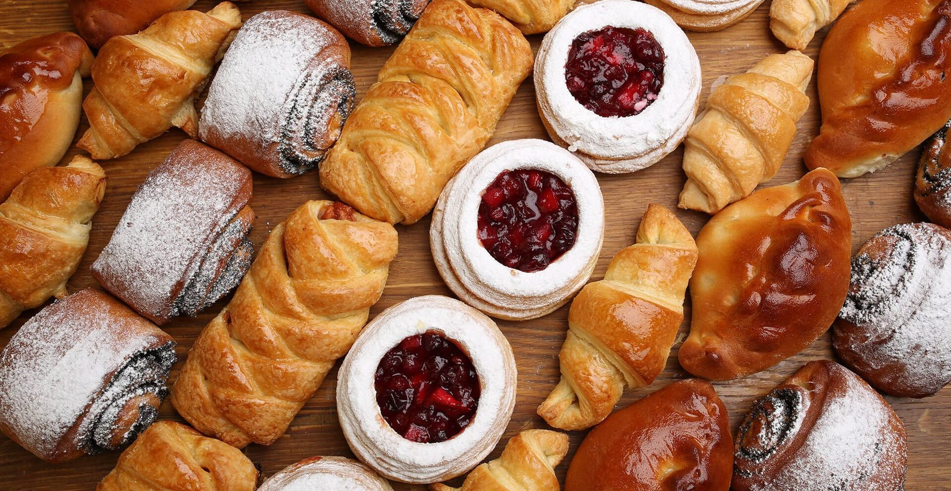 Range of health ingredient solution for sweet bakery, UT, RSPO (Roundtable on Sustainable Palm Oil), croissants, danish pastries, sweet breads, chocolate croissants, jam filled pastries, cinnamon bun