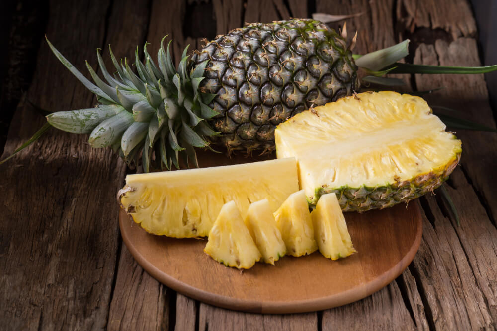 Natural and de-ionized clarified crushed pineapple juice concentrates pineapple slices