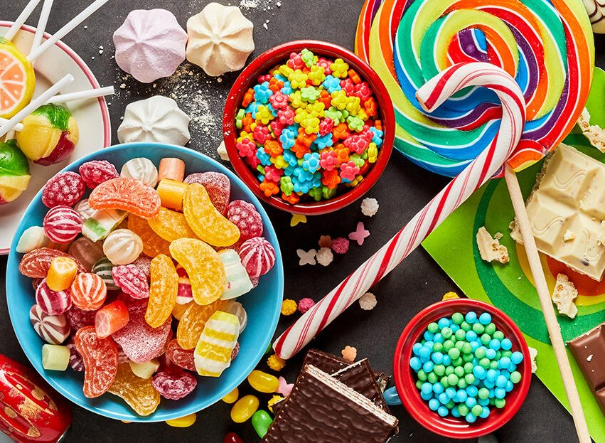 Sweets and candies offered with soy solutions, Supplier of candy ingredients enriched with vitamins and minerals