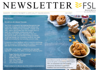 FSL BCS Ingredients Q1 2021 Newsletter Cover
