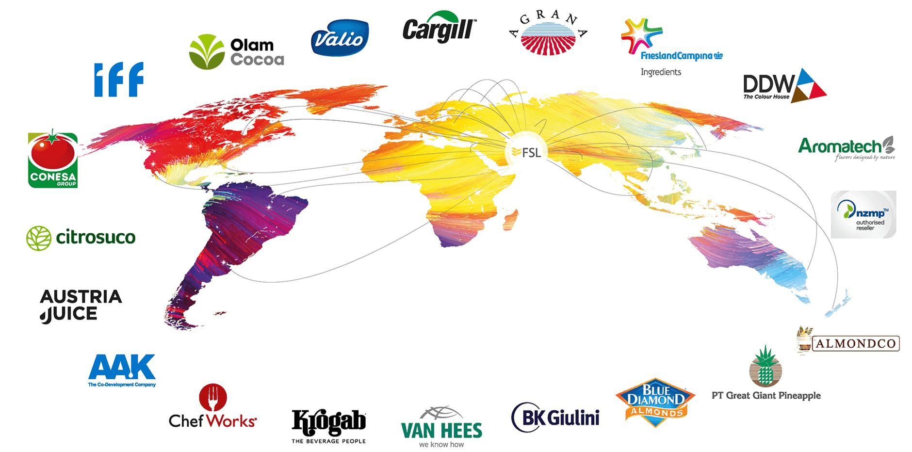 FSL Supplier Map